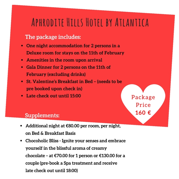 valentine packages aphrodite