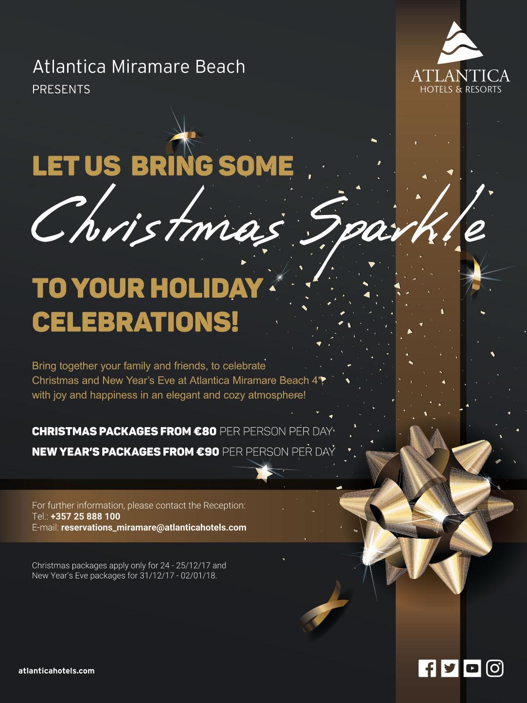 Atlantica Miramare Beach Hotel Christmas & New Year ...