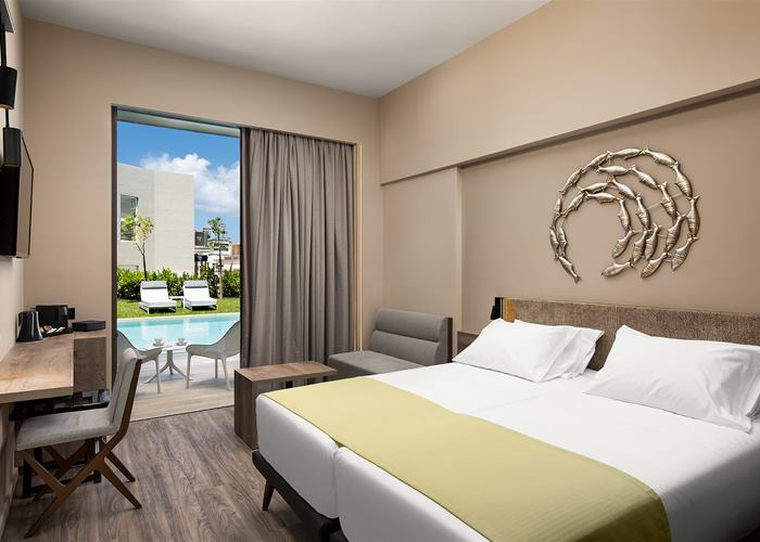 Atlantica Amalthia Beach Hotel - Deluxe Room Pool or Garden View