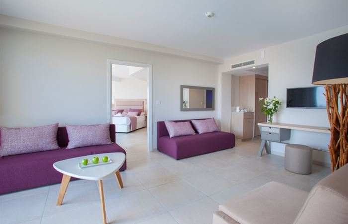 Atlantica Aeneas Resort and Spa TWO BEDROOM FAMILY SUITE POOL VIEW