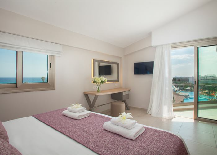 Atlantica Aeneas Resort and Spa ONE BEDROOM POOL VIEW FAMILY SUITE