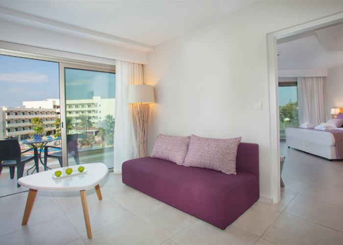 Atlantica Aeneas Resort and Spa ONE BEDROOM INLAND VIEW FAMILY SUITE