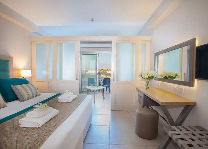 Atlantica Aeneas Resort and Spa FAMILY 4 INLAND VIEW ROOM WITH PARTITION
