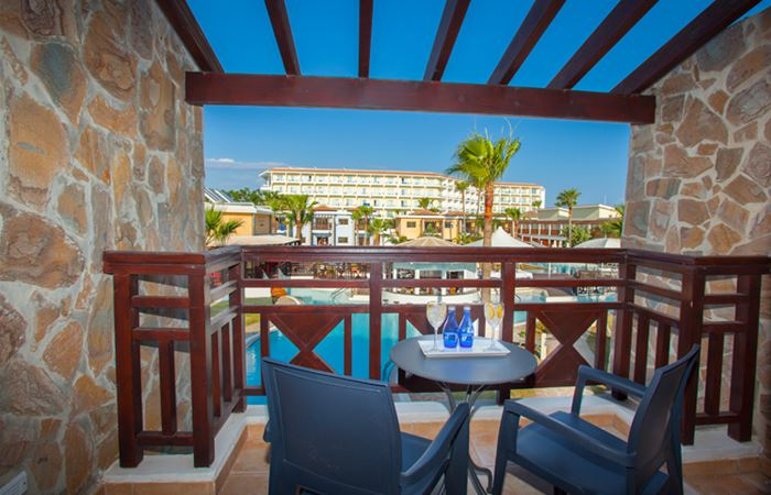 Atlantica Aeneas Resort and Spa SUPERIOR POOL VIEW ONE BEDROOM FAMILY SUITE