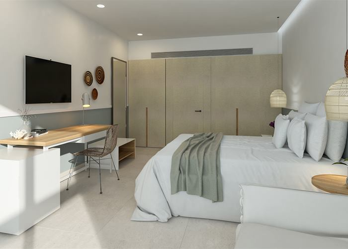 NEW 2020 - Atlantica Mare Village Paphos - Double Room Inland View