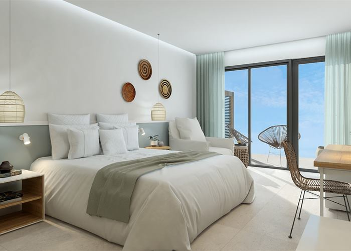 NEW 2020 - Atlantica Mare Village Paphos - Double Room Sea View