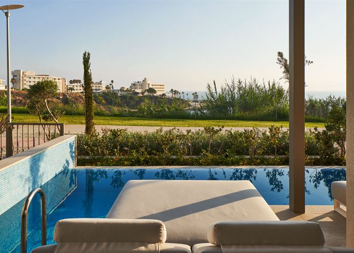 Atlantica Mare Village Paphos - One Bedroom Family Suite Swim Up