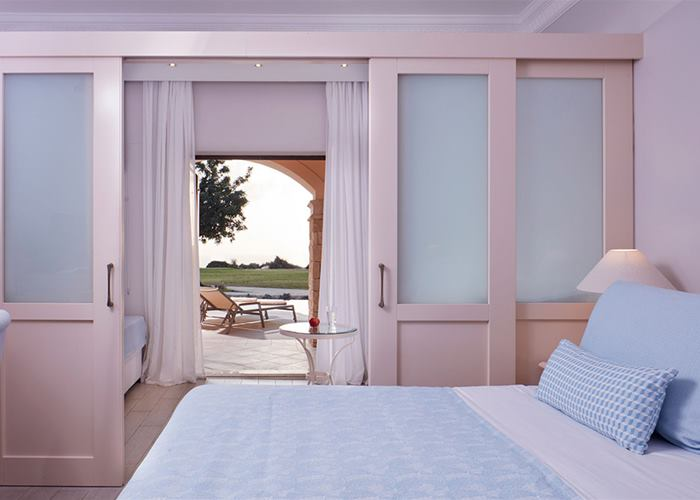 Aphrodite Hills Hotel by Atlantica - Family Room with Sliding Door, Swim Up Golf & Sea View