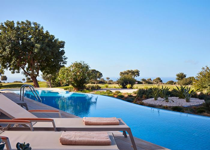 Aphrodite Hills Hotel by Atlantica - One Bedroom Family Room Swim Up, Golf & Sea View