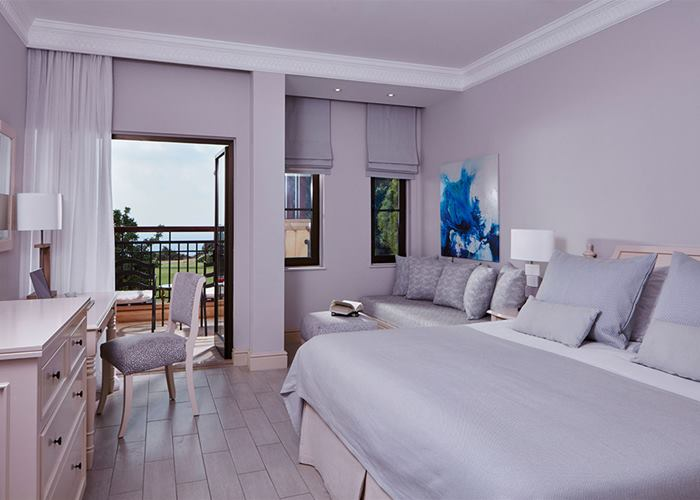 Aphrodite Hills Hotel by Atlantica - Deluxe Room with Golf & Sea View