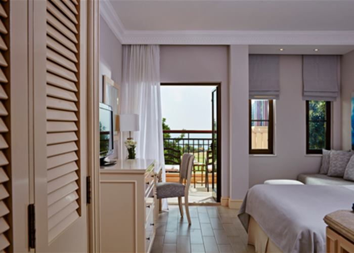 Aphrodite Hills Hotel - Deluxe Room with Golf & Sea View