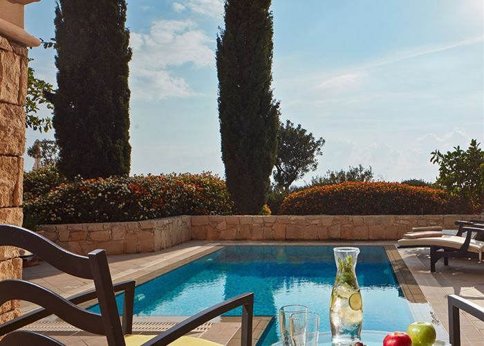 Aphrodite Hills Hotel by Atlantica - One Bedroom Family Room with Private Pool Golf/Sea View
