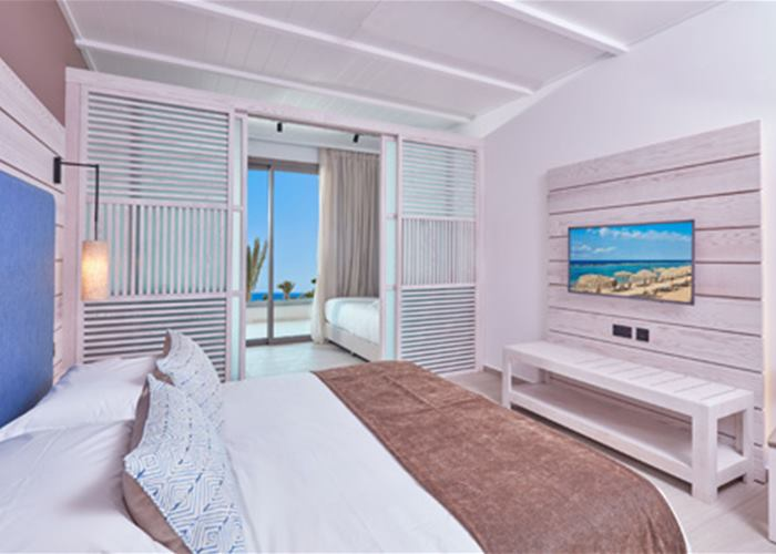 Atlantica Mare Village - VIP Family Room Sliding Door Inland View