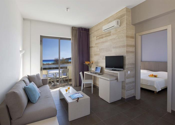 Atlantica Mikri Poli Rhodes - Suite Sea Side View