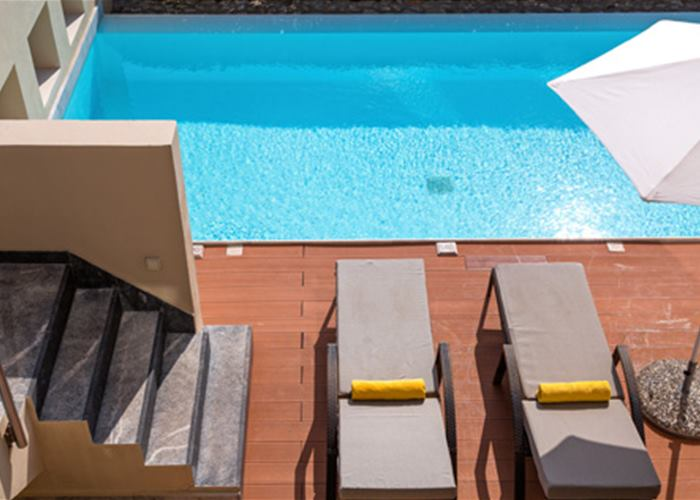 Atlantica Belvedere Resort - Villa with Private Pool Sea View