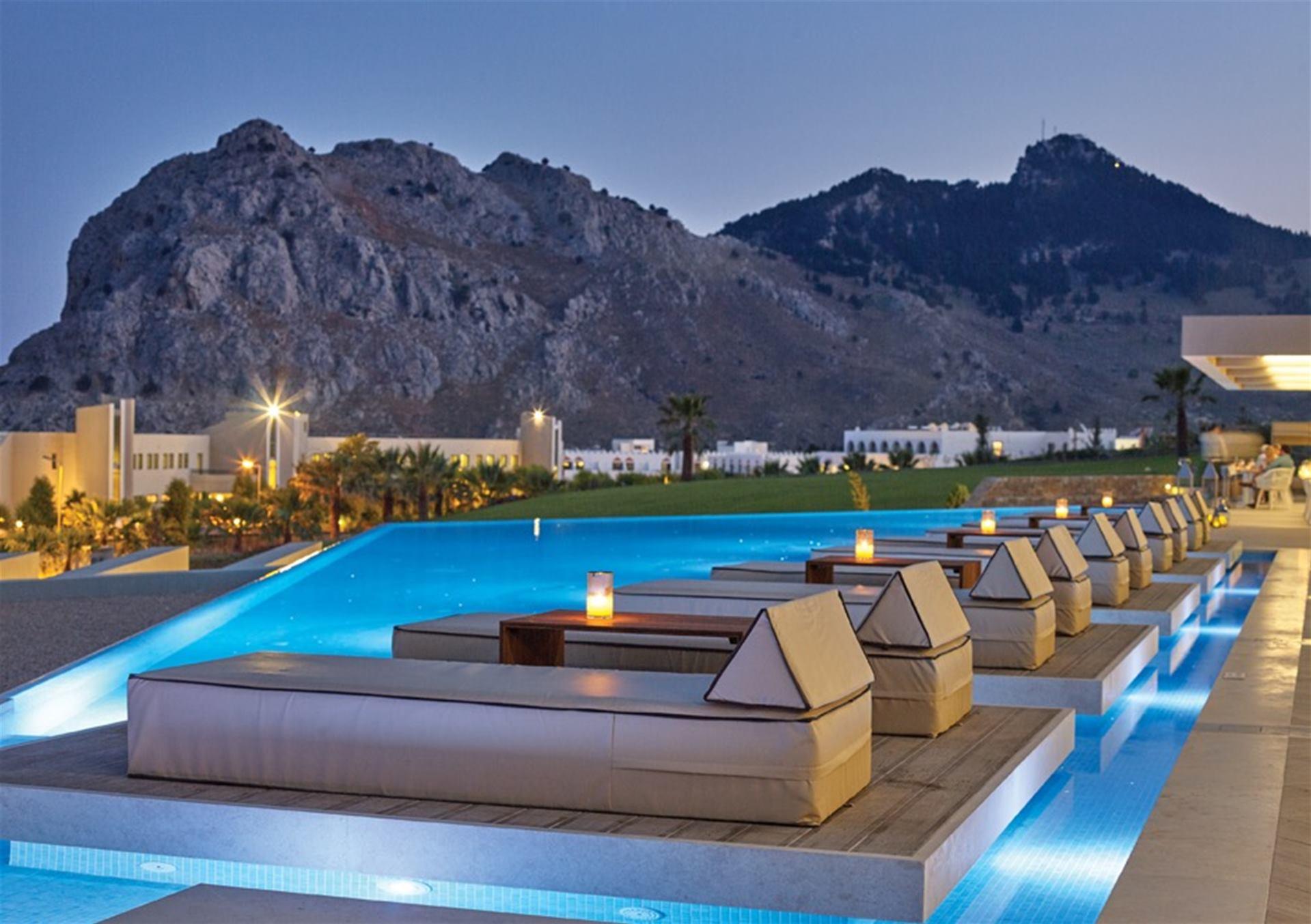 Hotel Atlantica Imperial Beach Resort Rhodos