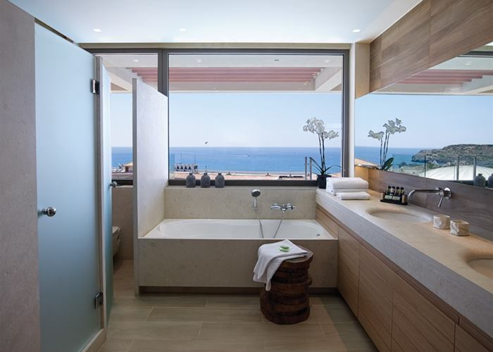 One bedroom suite private pool
