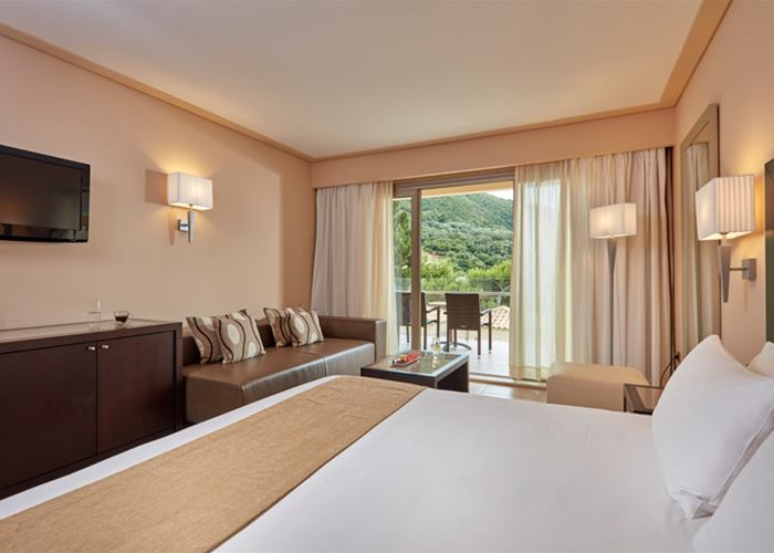 Double mountain view room