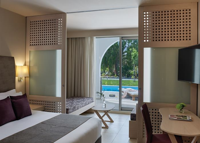 Atlantica Akti Zeus Hotel - Family Room Swim Up For 4 Inland View