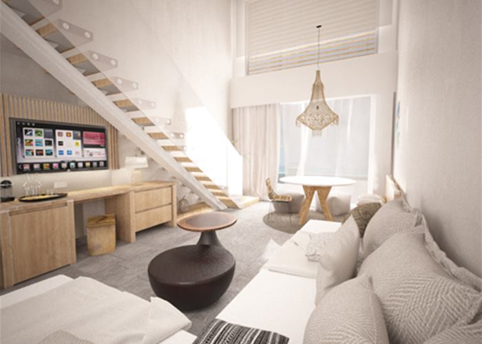 Atlantica Sensatori Resort Rhodes - Junior Suite Duplex