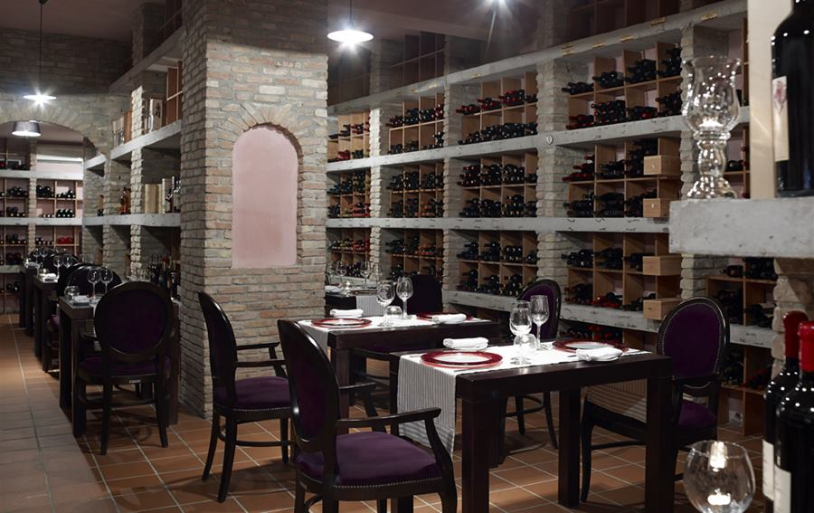 Atlantica Kalliston Resort and Spa - Wine Cellar Fine Dining